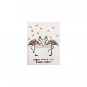 Vanilla Fly - GREETING CARD | HAPPY EVER AFTER BEGINS TODAY