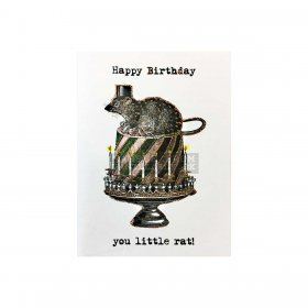 Vanilla Fly - GREETING CARD | HAPPY BIRTHDAY RAT
