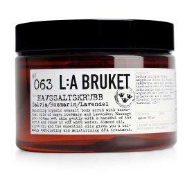 LA BRUKET - SEA SALT SCRUB | SAGE/ROSEMARY/LAVENDER