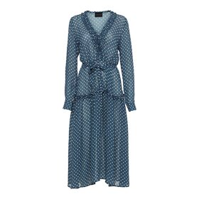 BIRGITTE HERSKIND - MAGGIE DRESS, BLUE DOTS