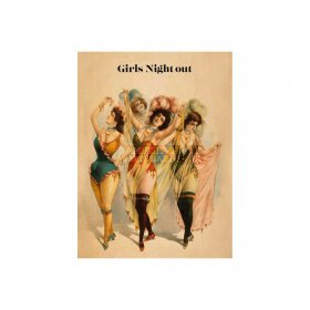 Vanilla Fly - GREETING CARD | GIRLS NIGHT OUT