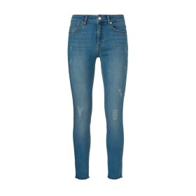 Ivy Copenhagen - DARIA JEANS DISTRESSED RIVA, DENIM BLUE