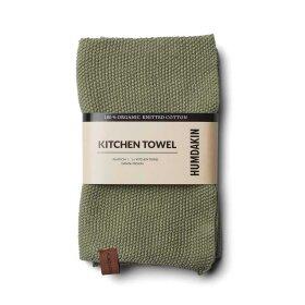 HUMDAKIN - KNITTED KITCHEN TOWEL, OAK