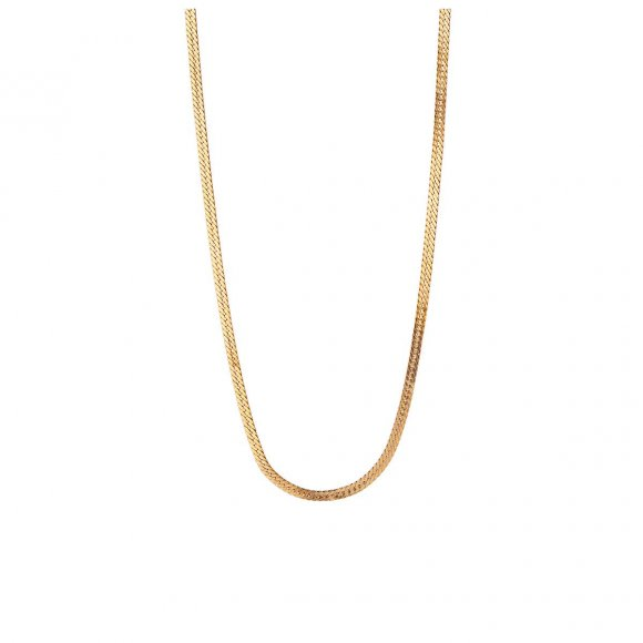 Short Snake Necklace | Forgyldt Fra Stine A