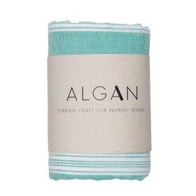 Algan - Sade hamamhåndklæde 100x180 cm | PASTELGRØN