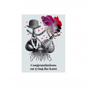 Vanilla Fly - GREETING CARD | CONGRATULATIONS ON TYING THE KNOT