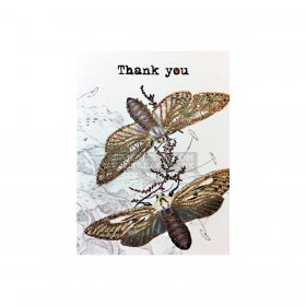 Vanilla Fly - Greeting card, THANK YOU