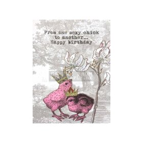 Vanilla Fly - A5 GREETING CARD | SEXY CHICK