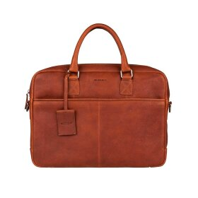 BURKELY - ANTIQUE AVERY LAPTOPTASKE 15,6 | COGNAC