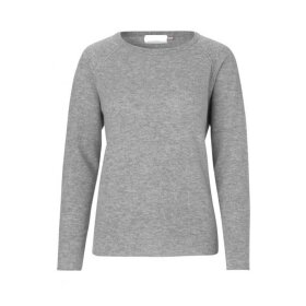 BTF CPH - CASHMERE PULLOVER | LIGHT GREY