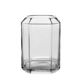 LOUISE ROE - JEWEL VASE H20 CM | CLEAR