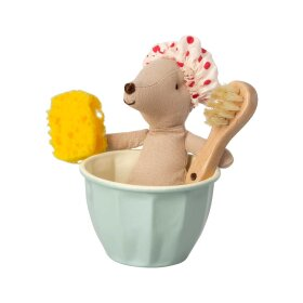 MAILEG - MOUSE SPA & WELLNESS BIG SIS 13 CM