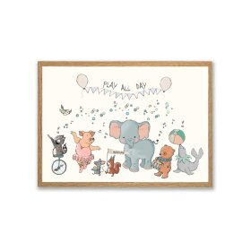 MOUSE & PEN - A3 PLAKAT 29X42 CM | PLAY ALL DAY