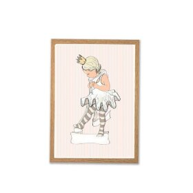 MOUSE & PEN - A4 PLAKAT 21X30 CM | LITTLE BALLET GIRL