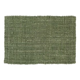 Dixie - JUTE DOORMAT 90X60 CM | SOFT GREEN