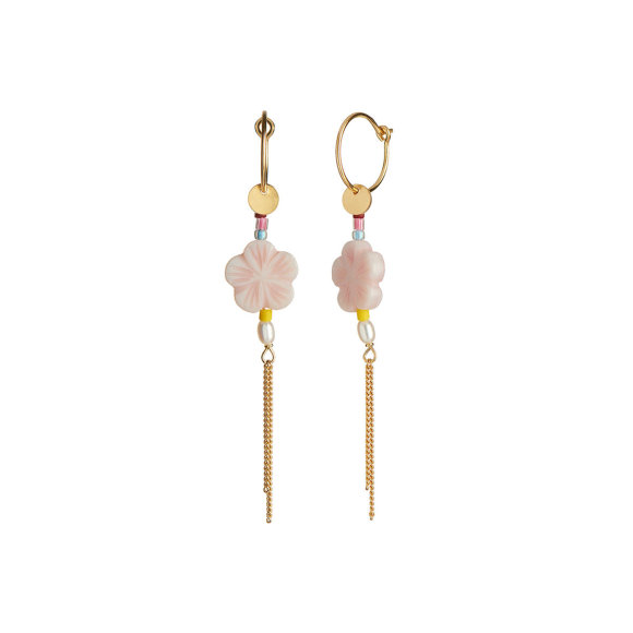 STINE A - PINK CHERRY BLOSSOM EARRING
