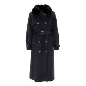 MEOTINE - MARTE COAT | SORT