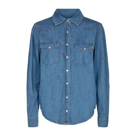 Ivy Copenhagen - ORA DENIM SHIRT WASH PRATO | DENIM