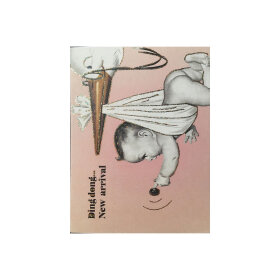 VANILLA FLY - GREETING CARD | BABY GIRL 164