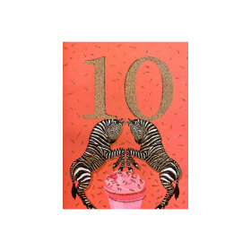 VANILLA FLY - GREETING CARD | 10 YEARS 236