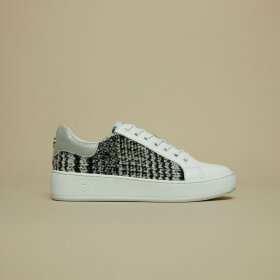 Philip Hog - TWEEDY SNEAKERS | HVID/SORT