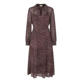LEVETE ROOM - KIRA DRESS | BRUN