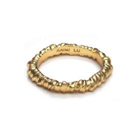 ANNI LU - SEAWEED RING | FORGYLDT