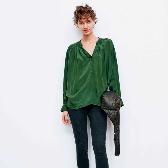 RABENS SALONER - LAIA NOCTURNE SHIRT | GREEN