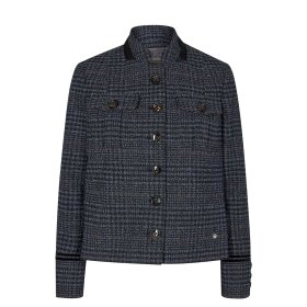 Mos Mosh - SELBY BOUCLE JACKET | NAVY