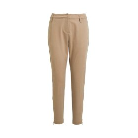 RABENS SALONER - SIGRID TWILL STRETCH RELAX FIT PANT | CAMEL