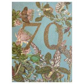 VANILLA FLY - A5 GREETING CARD | 70 YEARS