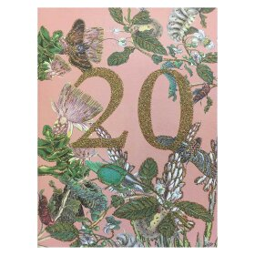 VANILLA FLY - A5 GREETING CARD | 20 YEARS