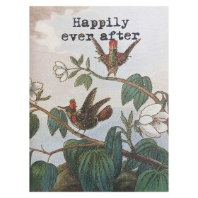VANILLA FLY - A5 GREETING CARD | HAPPILY EVER AFTER