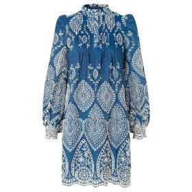 MUNTHE - TEPIC DRESS | BLÅ