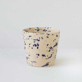 BORNHOLMS KERAMIKFABRIK - ORIGINAL CUP H7CM | BLUE SPLASH