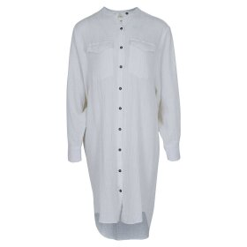 NEO NOIR - KENDELL GAUZE SHIRT DRESS | OFFWHITE
