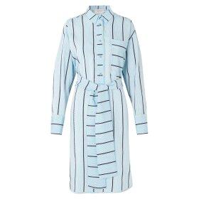 MUNTHE - TILDEN SHIRT/DRESS | ICE BLUE