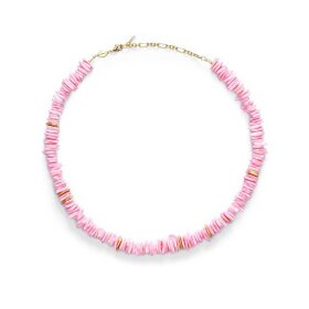 ANNI LU - PINK PUKA NECKLACE | FORGYLDT