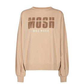 Mos Mosh - ZANNA SWEAT SHIRT   CUBAN SAND