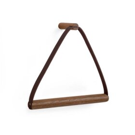 By Wirth - TOWEL HANGER 25X7 CM | SMOKED