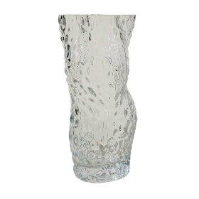 HEIN STUDIO - OSTREA ROCK GLASS VASE 30 CM | CLEAR