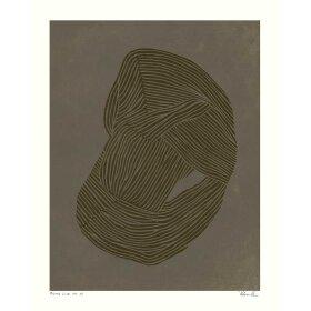 HEIN STUDIO - ROUND LINE NO. 3 - 40X50 CM