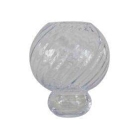 SPECKTRUM - MEADOW SWIRL VASE 20 CM | CLEAR