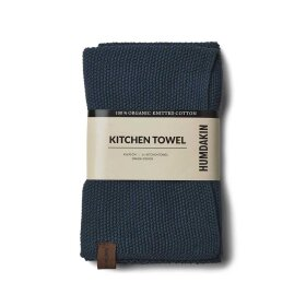 HUMDAKIN - KNITTED KITCHEN TOWEL | SEABLUE