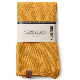 HUMDAKIN - KNITTED KITCHEN TOWEL | YELLOW FALL