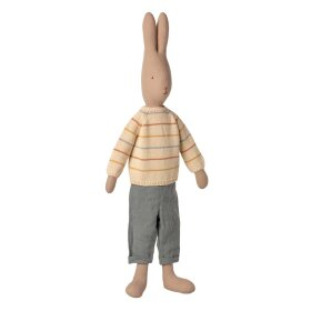 MAILEG - RABBIT SIZE 5 - 75 CM - PANTS & KNITTED SWEATER