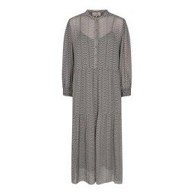 LEVETE ROOM - NARISSA DRESS | CHARCOAL