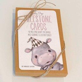 MOUSE & PEN - MILESTONE CARDS | PIGE