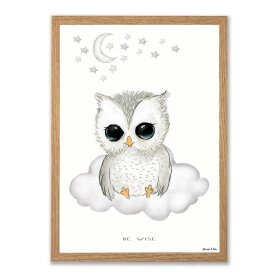 MOUSE & PEN - A3 PLAKAT 29X42 CM | BABY BE WISE/UGLE