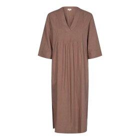 LEVETE ROOM - NAJA DRESS | MOCCA